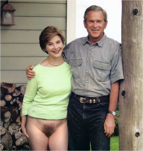 Laura bush nude parody porn full hd