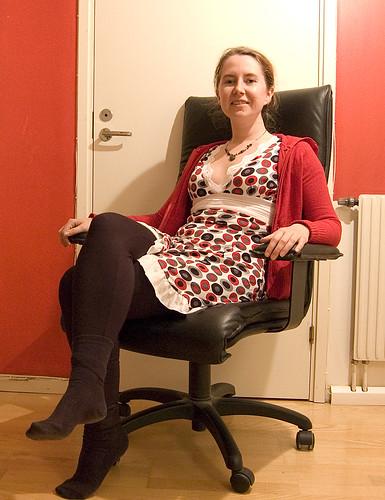EFIT 2007-04-19, 23:52: Dagens outfit, som jag t o m fick beröm för via Twitter : )