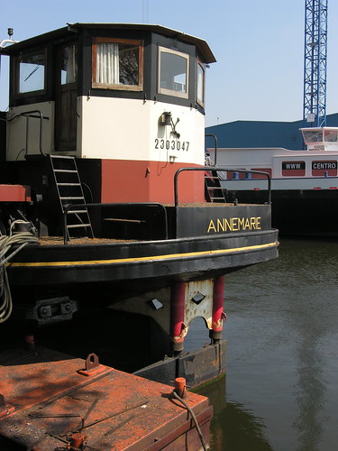 ANNEMARIE, a Dutch barge of the type 'kastje' I was born on