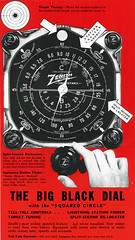 zenith1937_big_black_dial (Al Q) Tags: radio dial knob zenith
