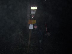 Trailhead at Dusk