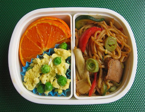 Yakisoba lunch for toddler