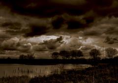 ... (* Ahmad Kavousian *) Tags: bw reflection sepia clouds richmond explore iona ahmad soe explored kavousian ahmadkavousian abigfave explore216 goldenphotographer tribesandhya beeninexplorepage beeninflickrexplorepage