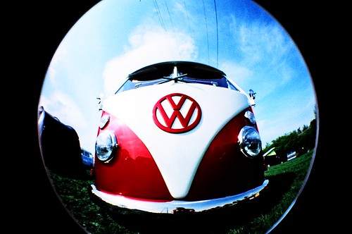 "Splitty <em>Fisheye ~ 35mm Film ~ AGFA CT Precisa ~ x-pro</em>  <a href=""http://www.flickr.com/photos/jenandmutley/sets/72157594220615504/"">check out my other fisheye shots</a>"