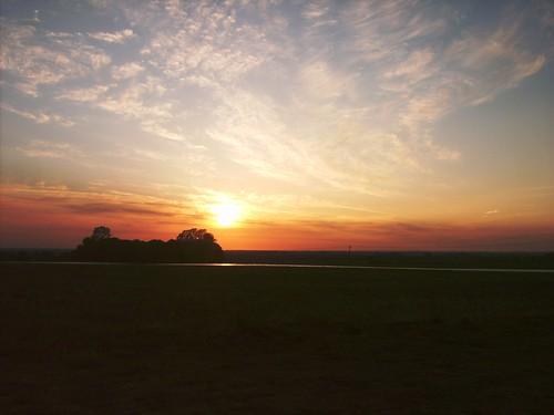 Evening Sunset Wimbotsham Norfolk