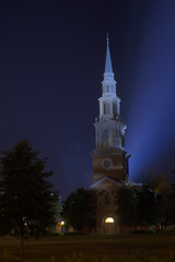 Reid Chapel Night HDR