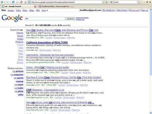 Neues Google-Design