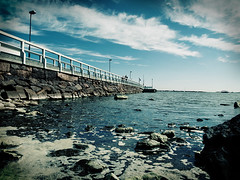 Where the sea starts (*laikanet*) Tags: bridge sea sky rock helsinki bravo foam myfave jesters whitebridge utatafeature photoartist utataliveshere holidaysvancanzeurlaub utata:project=upportfolio 24hoursflickr potwkkc37 jesterswinner