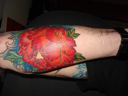 peony flower tattoo. Peony tattoo
