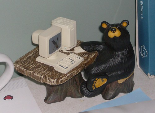 Brave GNOME Hacker Teddy Bear