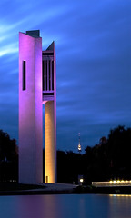 National Carillion, Canberra (Matt-Stewart) Tags: night dusk national canberra carillion diamondclassphotographer