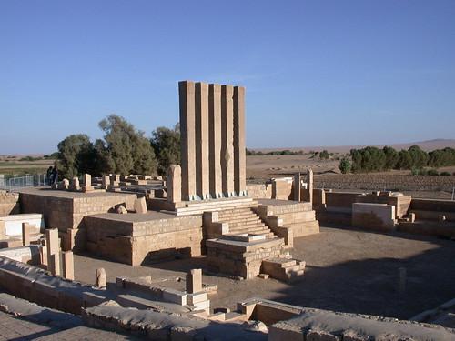 Belqis Temple Marib Yemen por khaled Nasher.