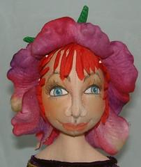 Petal headdress