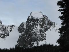 """One of the """"Buckhorn"""" Peaks"""