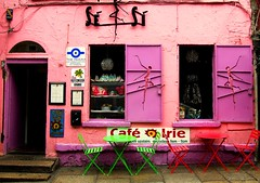 Pink cafe (Steve-h) Tags: architecture art design paint cracked shutters dancers windows tables chairs templebar dublin ireland eire europe pink red green mauve cafe blog blogs bloggers blogging steveh allrightsreservedabigfaveimpressedbeautysuperbmasterpiecesuperhearts25favesflickrawardflickr estrellasmygearandmepremiummygearandmebronzemygearandmesilvermygearandmegoldmygearandmeplatiniummygearandmeplatinummygearandmediamondguardami negli occhidouble dragon awards