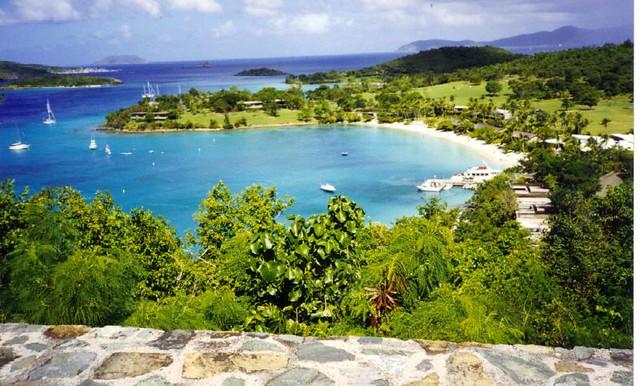 luxury Caribbean beach villa