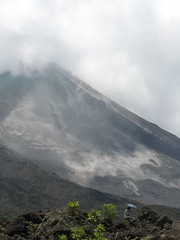 the power of plate tectonics (HennaLounge) Tags: flowers costa church fountain volcano lava la rocks cone rica lodge cerro crater fortuna arenal amarillas chato cortesas