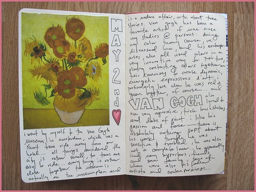 travel journal page five