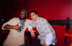 sharkula and friend (Sharkula) Tags: street music chicago hiphop rap legend sharkula thigahmahjiggee