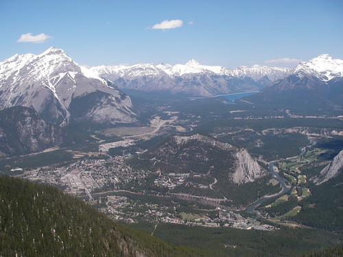 Banff and Lake Minnewanka