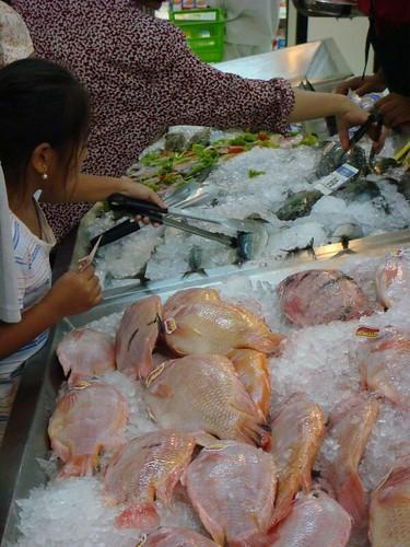 Seafood in Tesco...