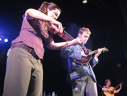 Nickel Creek, McDonald Theatre, May 8, 2007