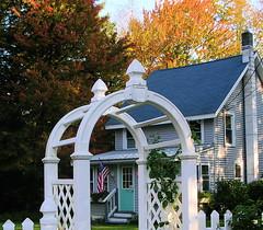 Fall Foliage (house dreams) Tags: vacation adirondacks lakehouse carogalake catsmeow caroga vacationrentals