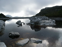 Water (jan-krux photography) Tags: mountain lake water clouds reflections landscape evening rocks dam capetown e1 tablemountain waterreservoir zd blueribbonwinner 1454mm