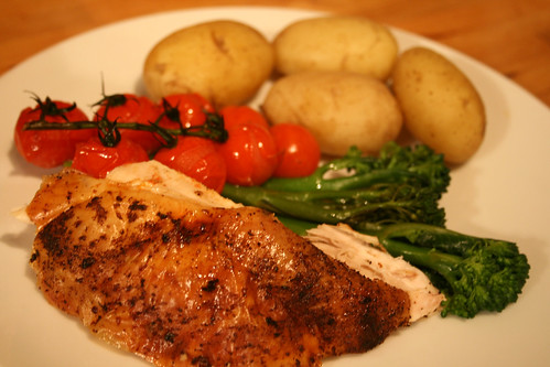 Lemon and Smoked Paprika Roast Chicken