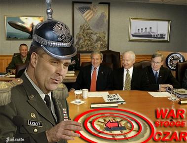 Bush Pentagon War Czar