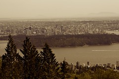 View of Downtown Vancouver - by Proggie