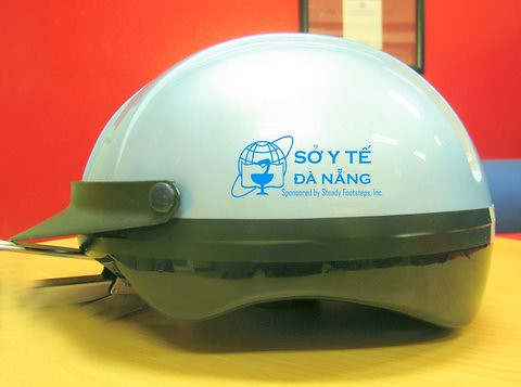 Da Nang Health Department Motorbike Helmet