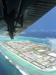 a vision of the promised city (dhoruhandi) Tags: wings maldives arial manal airtaxi hulhumale w810i dhoruhandi
