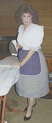 tnsp32a (Miss Patsy) Tags: skirt apron slip ironing petticoated