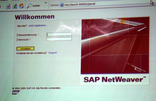 Live-Testing: Login mit SAP-Netweaver (FIRSTspirit)