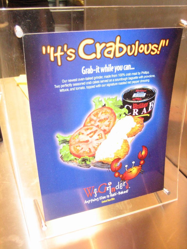 It's Crabulous