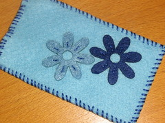 Ref.187a Bolsa para telemóvel azul