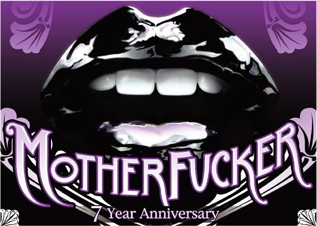 Motherfucker 7 Year Anniversary Party @ Webster Hall