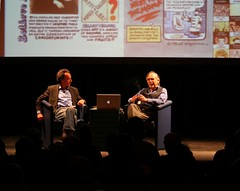 Art Spiegelman and Michale Kimmelman