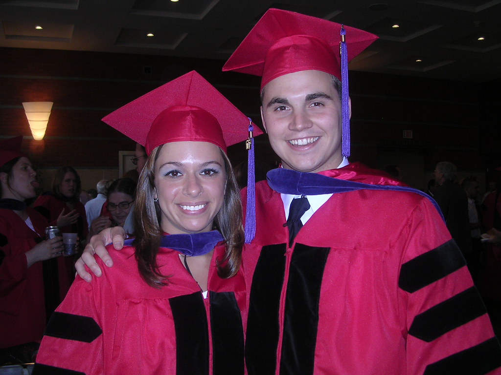 Stefanie and I at Hooding