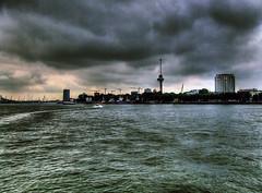 Storm brewing (sjoerd_reverda) Tags: haven rotterdam van kop zuid rijnhaven