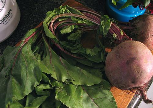 fat organic beets