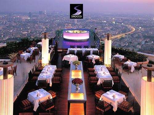 أفضل مطاعم حيث الموقع حول العالم