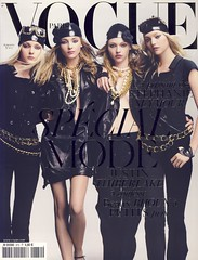 Vogue Paris Septembre 2006 (Ze Cali Fairy) Tags: fashion magazine model vogue cover craigmcdean gemmaward sashapivovarova frenchvogue jessicastam vogueparis carineroitfeld snejanaonopka peterphilips