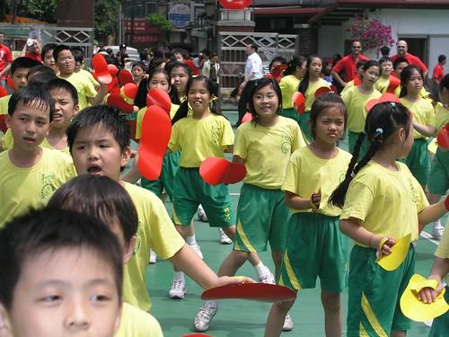 育才國小 50 週年(2007) 校慶— Annie 三年級的表演