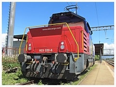 SBB CFF FFS Cargo, Eem 923 022-8 (v8dub) Tags: sbb cff ffs cargo eem 923 022 8 schweiz suisse switzerland bahnhof station abstellgleis rangierlok zug train trein treno railroad railway lokomotive locomotive loco lok bahn eisenbahn