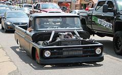 1963-1966 Chevrolet C10 (SPV Automotive) Tags: 1963 1964 1965 1966 chevrolet c10 pickup truck classic car matte black