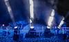 Blue Searchlight (sapphire_rouge) Tags: 六本木 skyscraper tokyotower 東京 夜景 illumination 日本 tokyomidtown 高層ビル roppongihills roppongi 東京ミッドタウン darkness japan 東京タワー midton イルミネーション