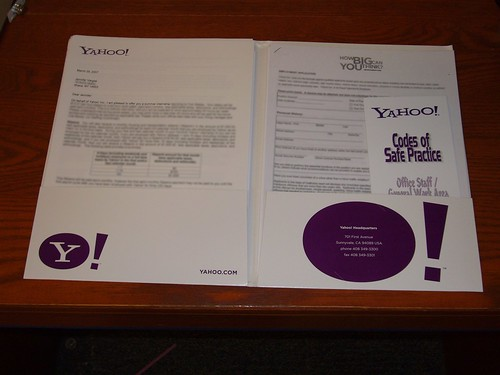 Yahoo! folder inside