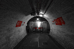 Tunnel (mr_o) Tags: uk london public europe guessed guesswherelondon greenwhich mro foottunnel gwl guessedbypomphorhynchus